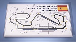 El Circuit de Barcelona, sede del GP de España de F1