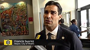 Miami Mayor Francis Suarez on F1 decision