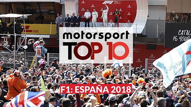 Motorsport Top10 Shorts: GP de España de F1