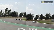 Warum Hamilton in Spanien so schnell war