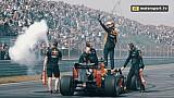 Spectaculaire demo's Verstappen, Ricciardo en Coulthard tijdens Jumbo Racedagen