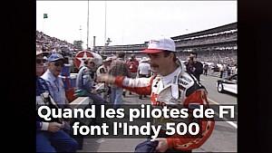 Quand les pilotes de F1 font l'Indy 500