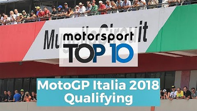 Top 10 Highlights Qualifying | MotoGP Italia 2018