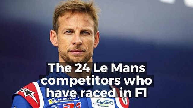 F1 racers at Le Mans in 2018