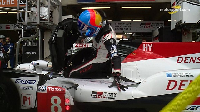 Driver change 8 Toyota