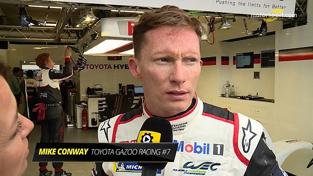 Mike Conway Interview