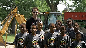 Joey Logano breaks ground in Louisville, KY