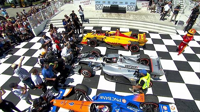 IndyCar Road America IndyCar race highlights