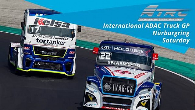 En vivo: International ADAC Truck GP - Nürburgring - Sábado