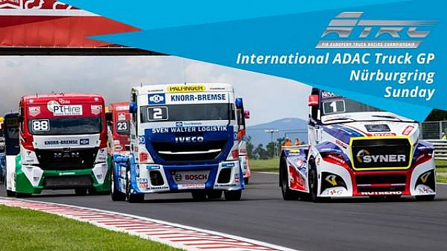 En vivo: International ADAC Truck GP - Nürburgring - Domingo