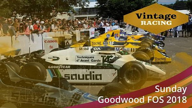 LIVE: Goodwood FoS Minggu