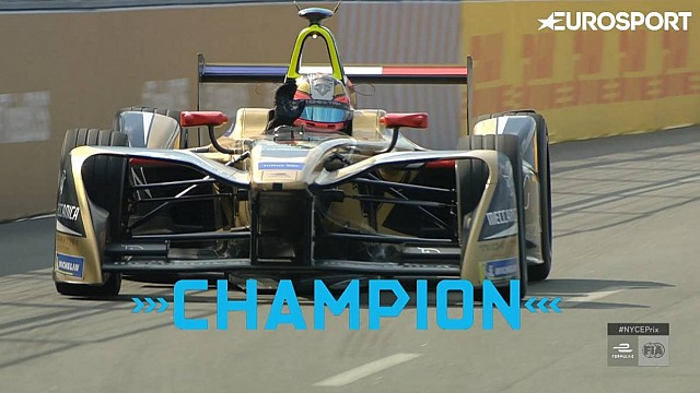Highlights New York City e-Prix race 1