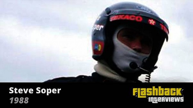 1988 Spa 24 hours ETCC race, interview with Steve Soper