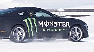 Mustang Supercar build underway at Monster Energy Racing